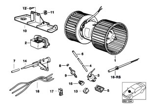 Original Parts for E34 520i M50 Touring  Heater And Air