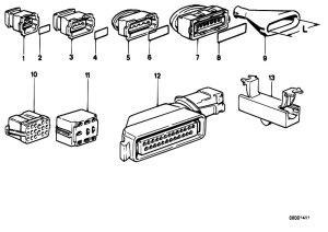 Original Parts for E30 316i M40 2 doors  Engine