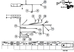 Original Parts for Z3 Z3 M32 S50 Roadster  Engine