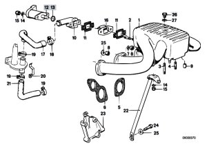 Original Parts for E30 318i M10 4 doors  Engine Intake