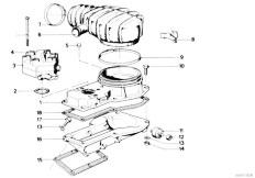 Original Parts for E21 323i M20 Sedan  Fuel Preparation System Addit Air Slide Valve Warm Up