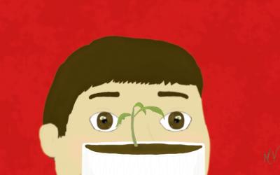 O pezinho de tomate