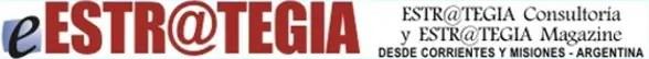 Banner original de Estrategia Magazine, año 2002