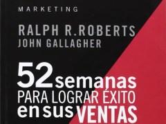 Libro 52 semanas para lograr éxito en sus ventas