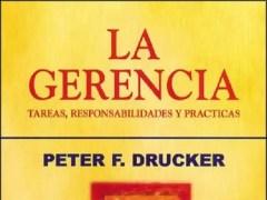 Libro La Gerencia - Peter Drucker