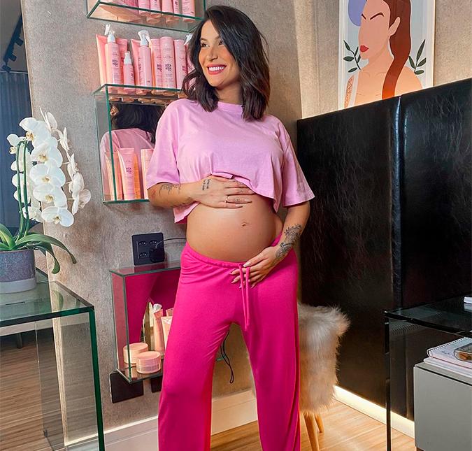 Bianca Andrade exibe barrigão de gravidez e encanta os seguidores na web;  veja a foto! - Estrelando
