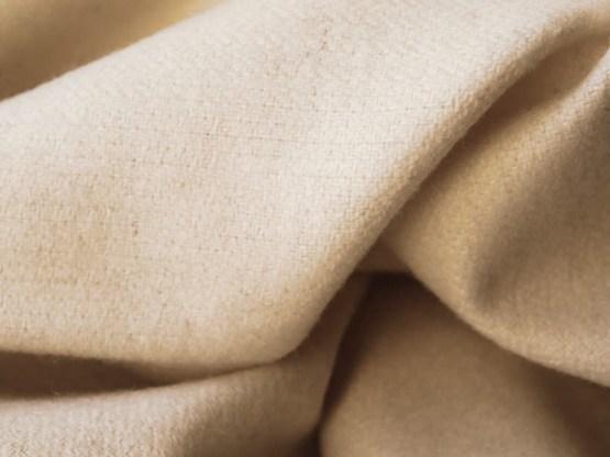 écharpe laine écrue
