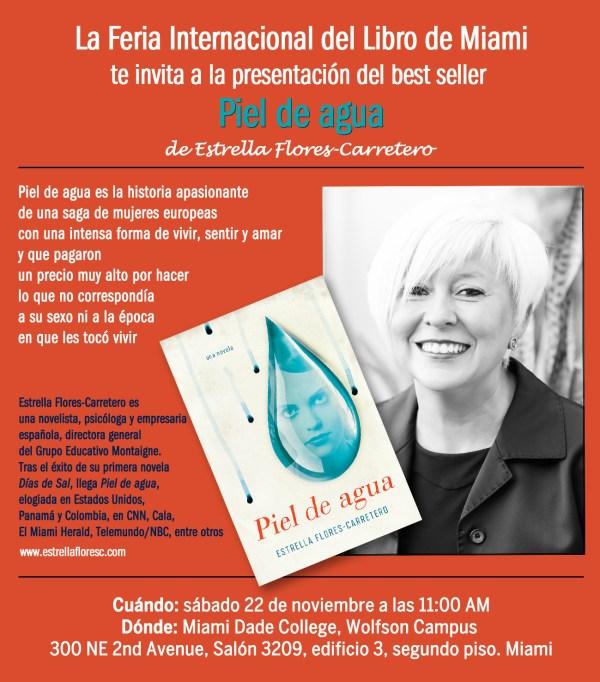 Estrella Flores-Carretero, Feria Internacional del Libro de Miami