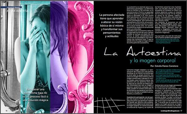Autoestima, Estrella Flores-Carretero, Living&Travel