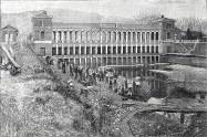 Edificio di imbocco del Canale Cavour