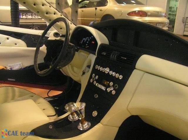 الشكل النهائي للسيارة