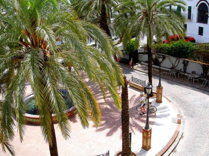 Vejer's shady squares