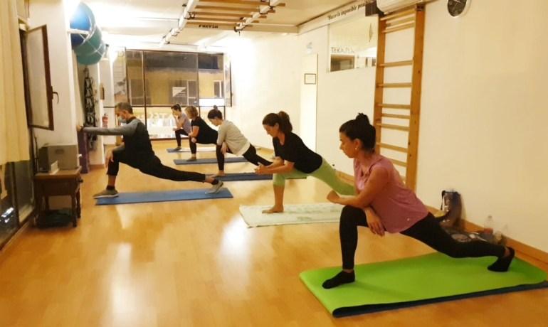 Pilates Mat (piernas y glúteos)