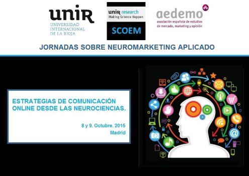 Jornadas sobre neuromarketing aplicado Octubre 2015