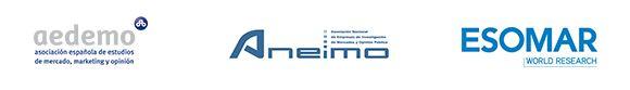 Logo AEDEMO - ANEIMO - ESOMAR