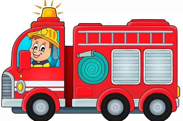 Caminhão de bombeiro