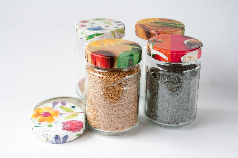Decorar tapas de frascos esturirafi - Diy frascos decorados ...