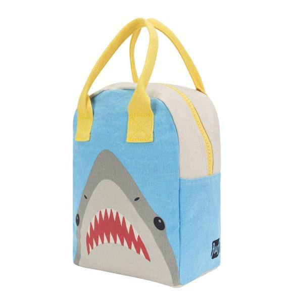 mochila tiburon almuerzo algodon organico