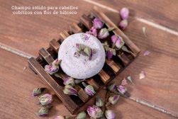 2_champu solido para cabellos cobrizos con flor de hibisco