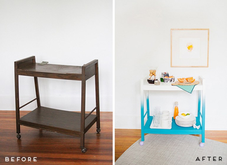 Restaurar un mueble viejo