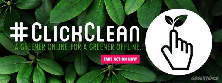 clickclean Greenpeace