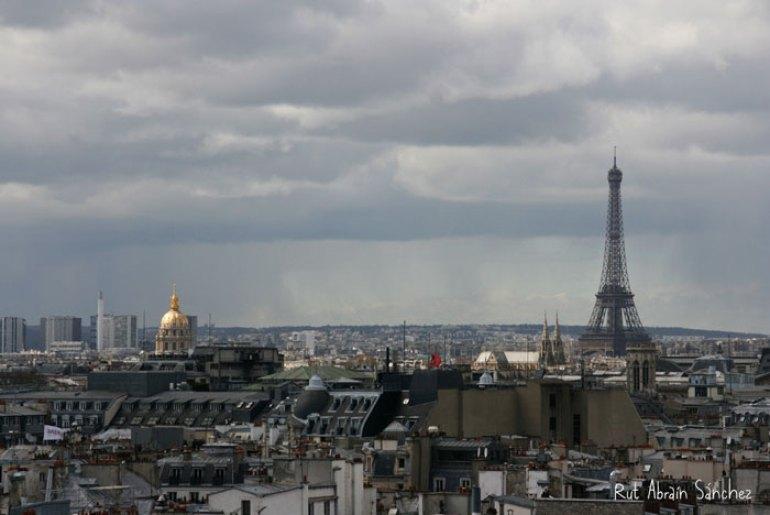 París, está hecha desde el museo Pompidou.
