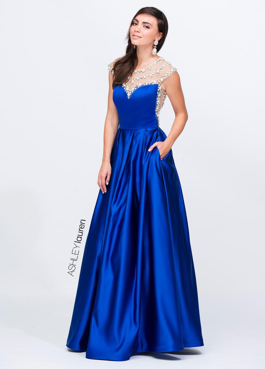 Ashley Lauren 1141 ASHLEYlauren Collection Miss Priss Prom