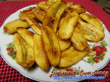 Fried Banana merienda