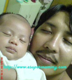 filipino baby with daddy