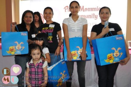 Pinay Mommies Community Event with drypers