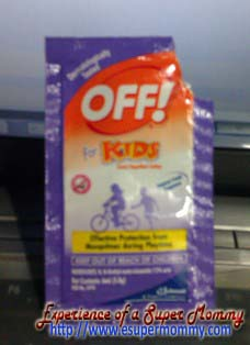 Kids insect repellant lotion avoid dengue