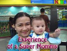 Filipina Mom with cute baby