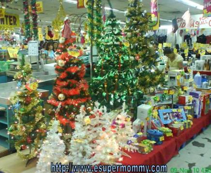 cheap christmas trees in the Philippines