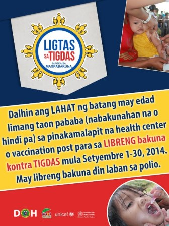 DOH Measles Campaign