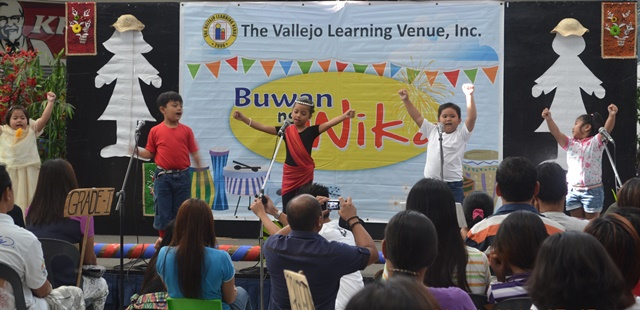 The Vallejo Learning Venue Inc Buwan ng Wika