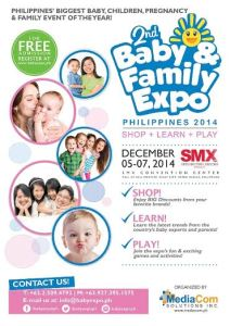 Now Even Bigger for Baby and Family Expo Philippines 2014