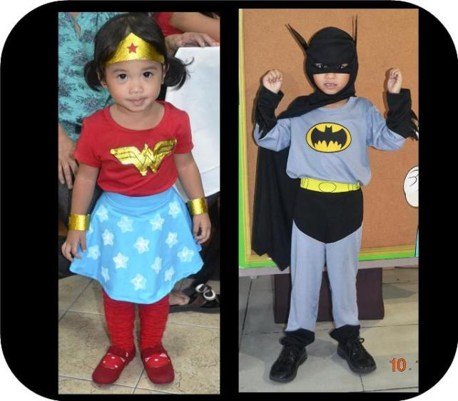 Wonderwoman and Batman Costume