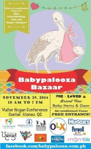 Babypalooza Bazaar 2014 at Walter Hogan Conference Center, Ateneo de Manila