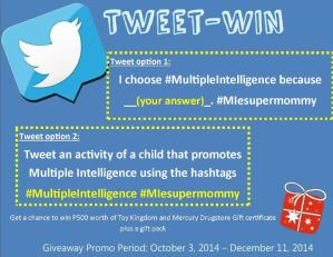 Tweet-Win Multiple Intelligence Promo Week 6