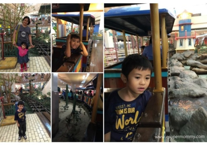 Alabang Festival Mall Train ride