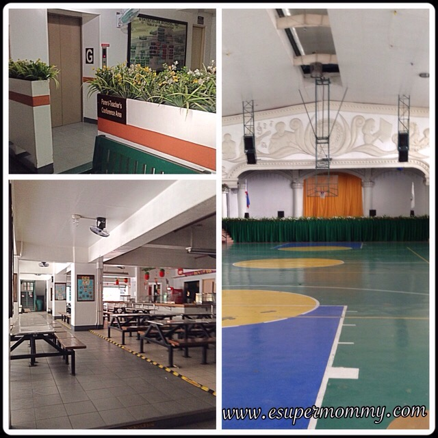 Statefields Gymnasium and canteen