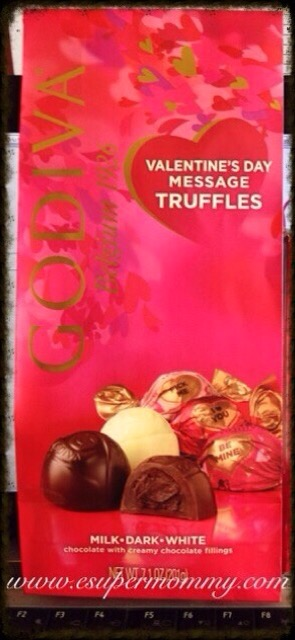 Godiva Valentine's Day Message Truffles