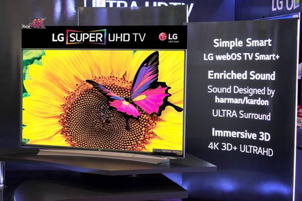 LG UG8700 UHD TV