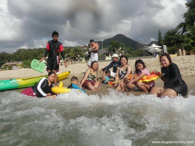 Sabangan Beach with Family