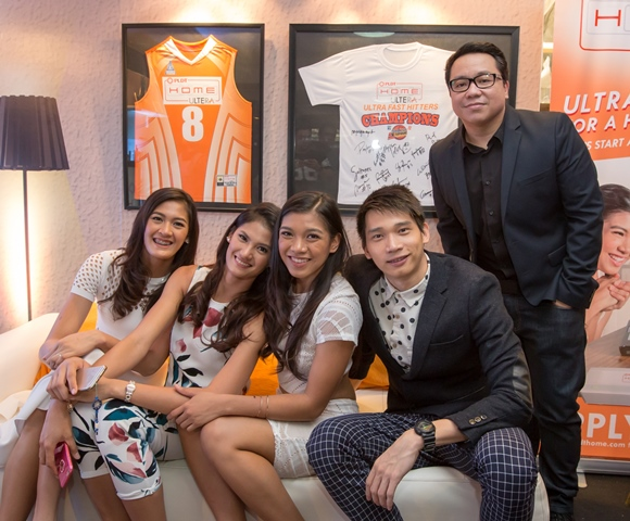 PLDT HOME Ultera New Brand Ambassadors
