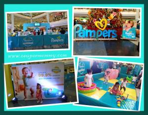 New Pampers Baby Dry 99.9% Dryness Challenge at Robinsons Manila