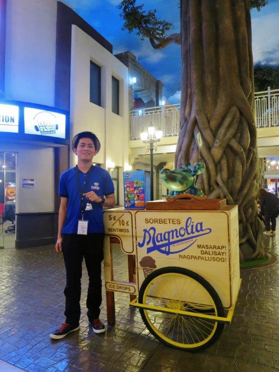Friendly Mamang Sorbetero at KidZania Manila