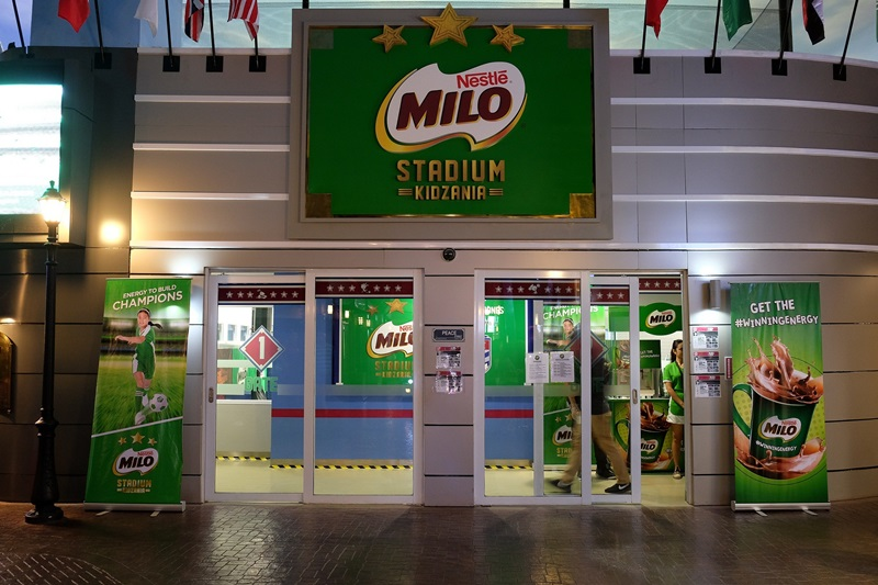 Milo Stadium KidZania