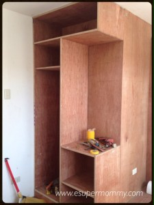 Built-in Wardrobe with Vanity