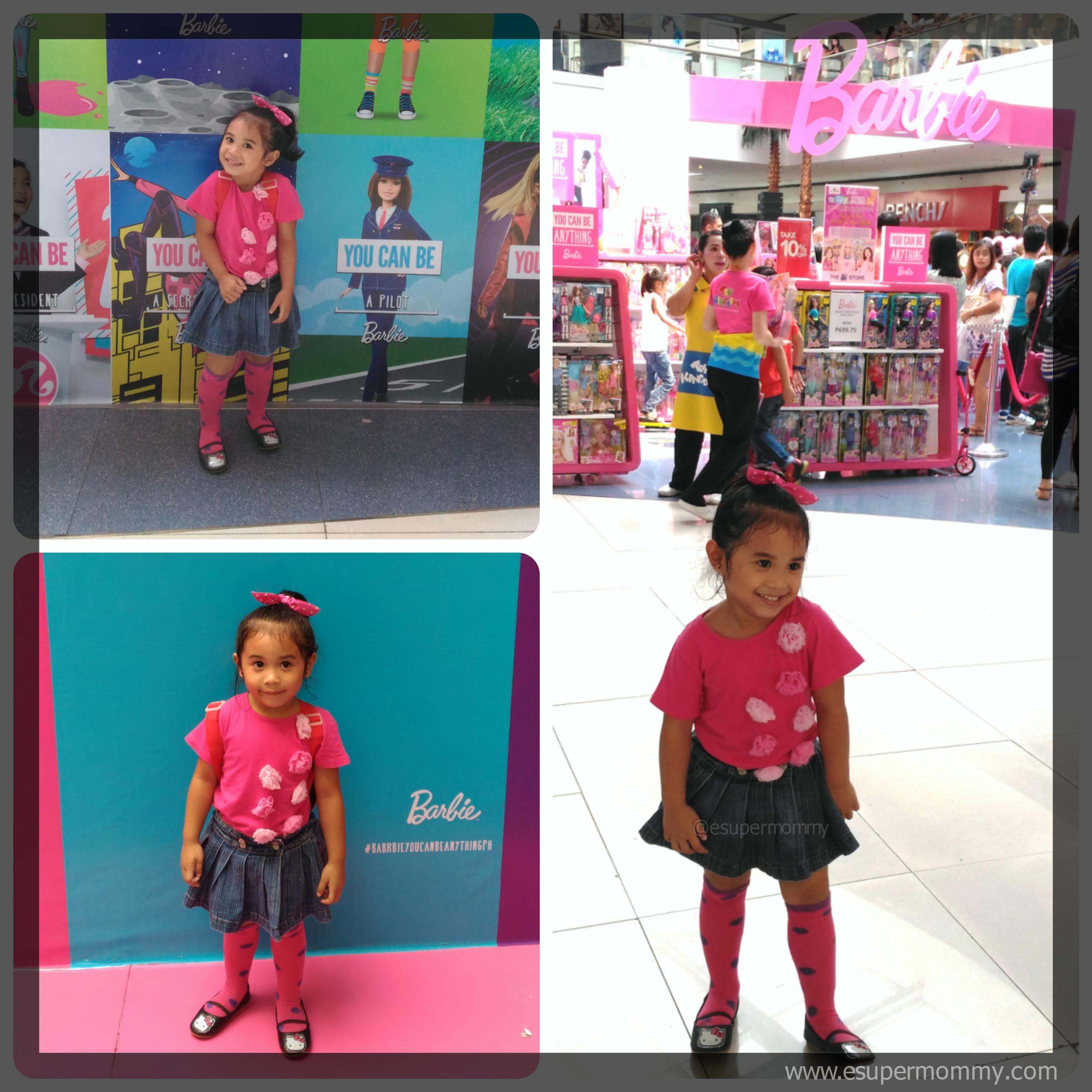 Mirai at the Barbie You Can Be Anything Day